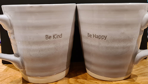 Embossed Mug With Text (11cm)