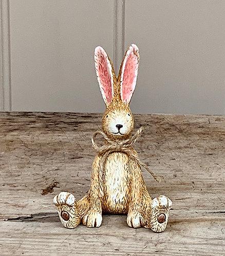 Rustic Sitting Bunny