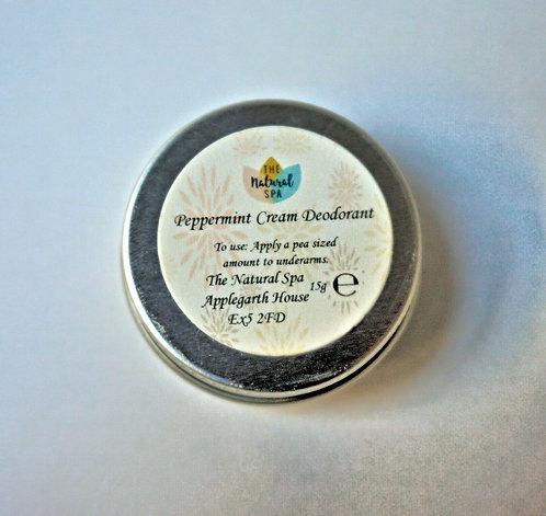 Cream Deodorant - Peppermint Cream - Travel Size