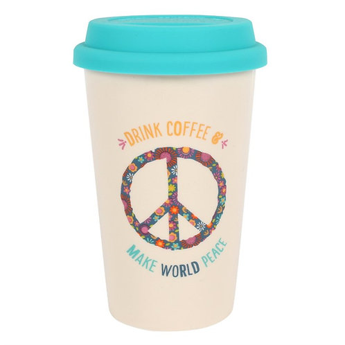 World Peace Thermal Travel Mug