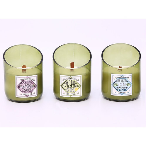 Soya Gin Flavoured Candle - 11oz
