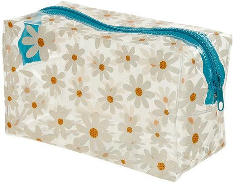 Pretty Daisy Wash/Toiletry Bag