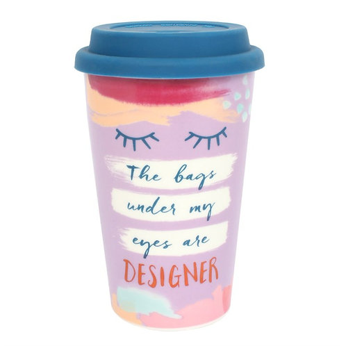 The Bags Under My Eyes.... Thermal Travel Mug