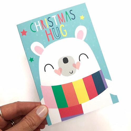 Christmas Hug Card