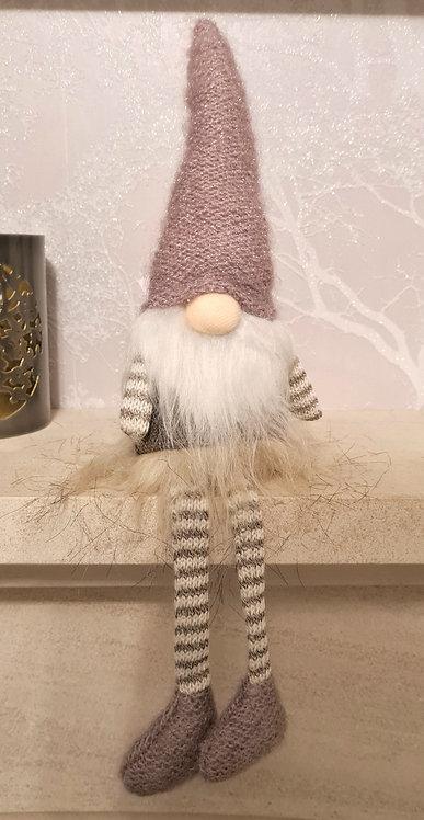 Grey Stripe Dangly Legged Gonk
