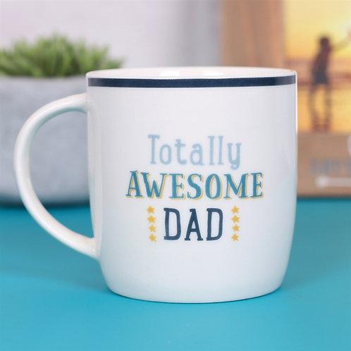 TOTALLY AWESOME DAD MUG