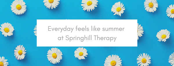 Everyday feels like summer at Springhill