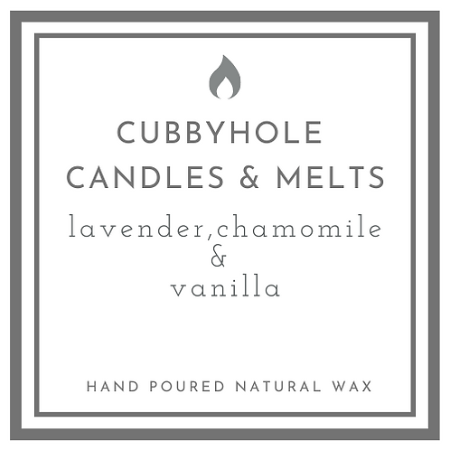 Lavender, Chamomile & Vanilla Natural Wax Melts