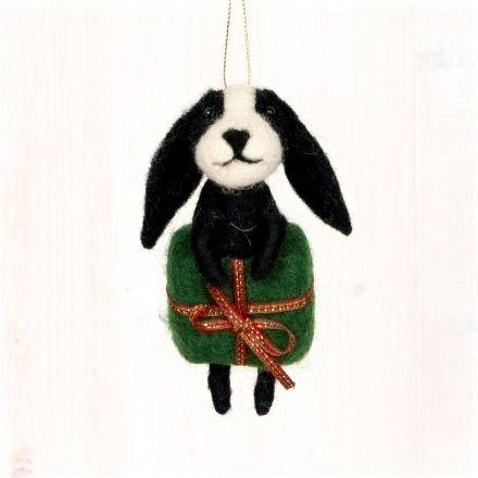 Woollen Hanging Dog