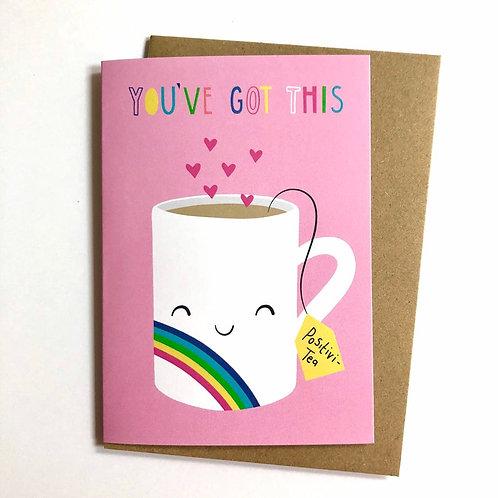 Positivi-tea Card