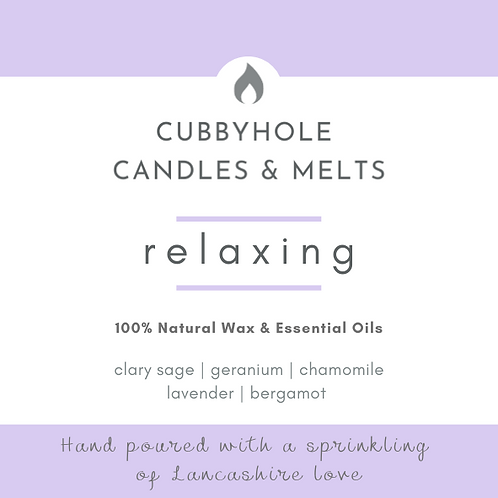 'Relaxing' Soy Wax Melts - Wellbeing Collection