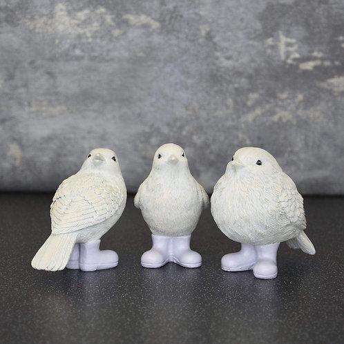 Birds in Wellies