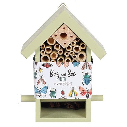 Wooden Bug & Bee Hotel