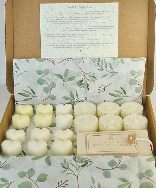 Wellbeing 'Try Me, To Like Me' Box - Essential Oil & Natural Wax Melts