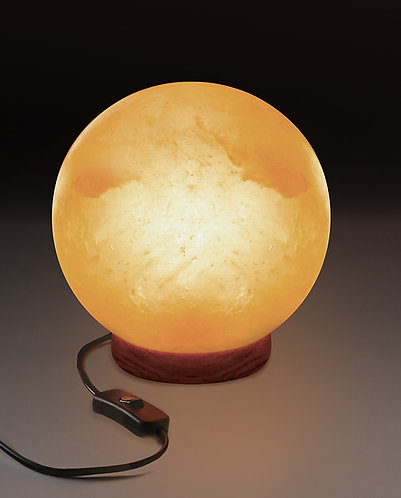 Round Shape Natural Himalayan Salt Lamp