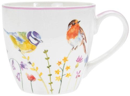 Garden Birds Fine Bone China Mug