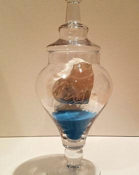 Cookie Cutter | Jar of Hearts sculpture series by Bojana Randall | wedding heart