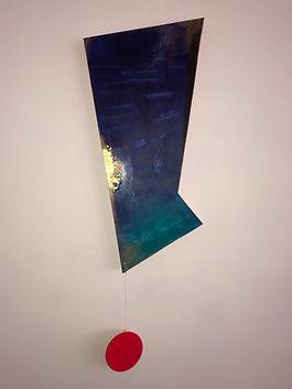 Neartest Star | Pendulums: Part One series | wall sculptures by artist, Bojana Randall