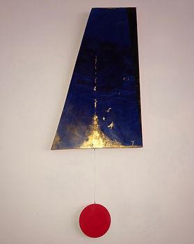 Into Oblivion | Pendulums: Part One series | wall sculptures by artist, Bojana Randall