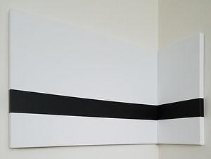 Through | multidimensional minimal paintings by Bojana Randall
