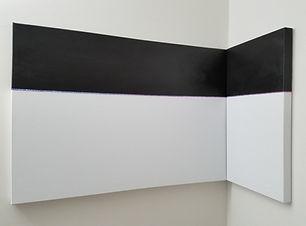 Aligned Stars | multidimensional minimal paintings by Bojana Randall