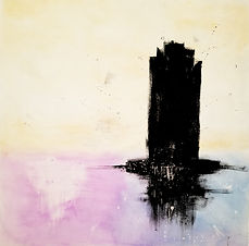 Pillar | acrylic painting by Bojana Randall
