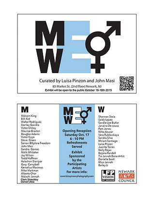 ME-WE group art exhibition, Newark NJ | including four paintings by Bojana Randall from the Muzika! series