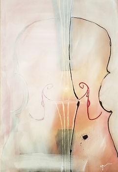 Washed Out   acrylic painting by Bojana Randall