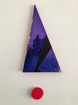 Ribbon | Pendulums: Part One series | wall sculptures by artist, Bojana Randall