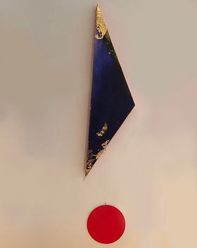 Obscurity | Pendulums: Part One series | wall sculptures by artist, Bojana Randall