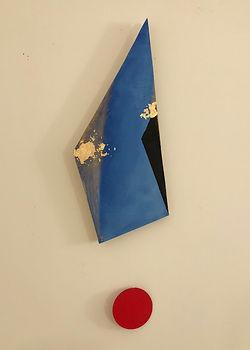Ripple | Pendulums: Part One series | wall sculptures by artist, Bojana Randall