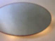 Warmth (2020) | mirrors, acrylic, LEDs | floor sculptures by artist, Bojana Randall | light art
