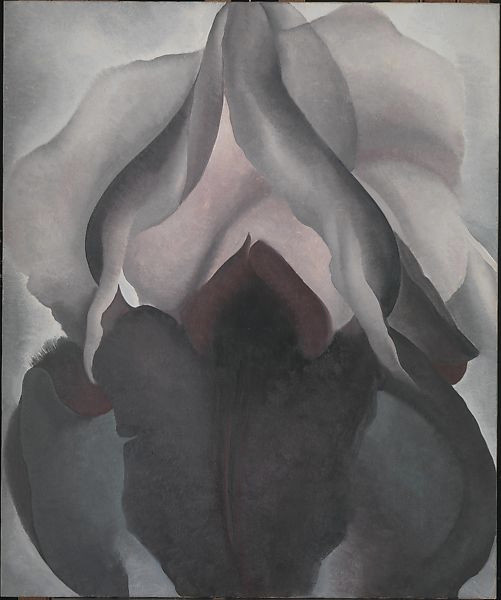 flower painting by O'Keeffe