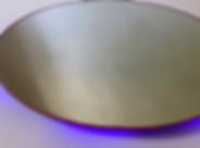Violet (2020) | mirrors, acrylic, LEDs | floor sculptures by artist, Bojana Randall | light art