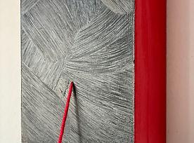 Timebonds sculpture-painting series by artist, Bojana Randall