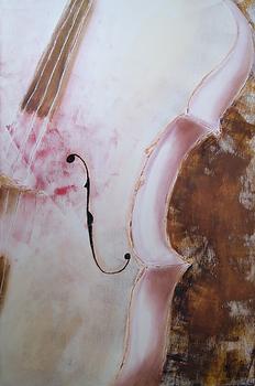 Heartbleed | acrylic painting by Bojana Randall