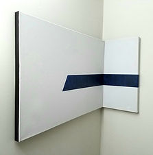 Onward | multidimensional minimal paintings by Bojana Randall