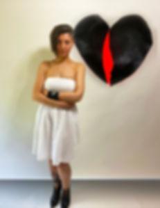 Interdisciplinary artist, Bojana Randall with Broken (2020) | #sacretheartsshow