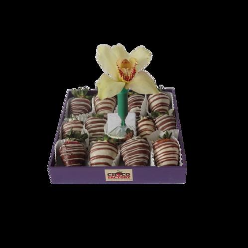 Fresas con Chocolate & Orquidea