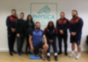 England Rugby Visit Physica Health | Physiotherapist | Surrey