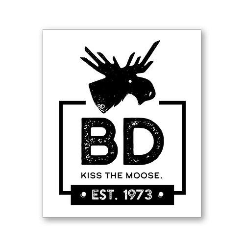 BD Logo Sticker