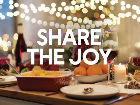THE SPIRIT OF THE SEASON — SHARE THE JOY