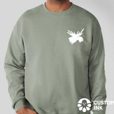Biederman's Stonewash Green Sweatshirt