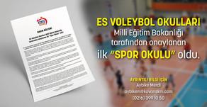 Voleybol Okullarına MEB Onayı