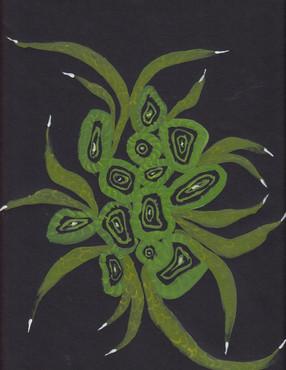 Plant-hand-spiral series 2