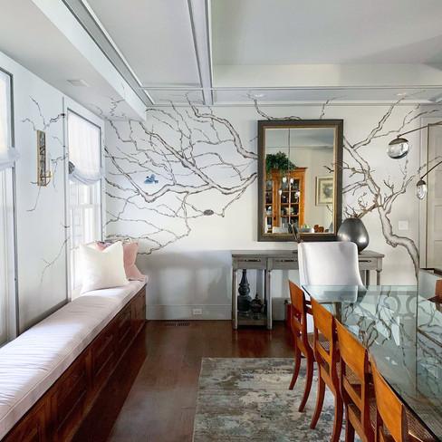 Dining Room Prunus