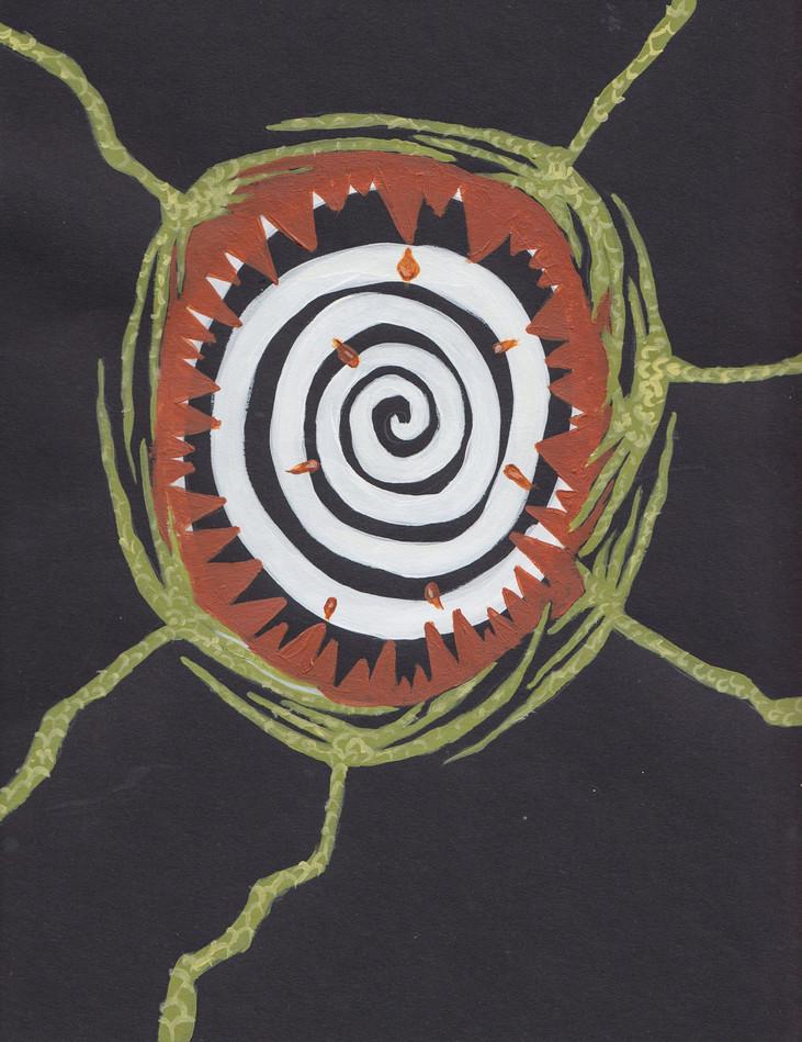 Plant-hand-spiral series 4