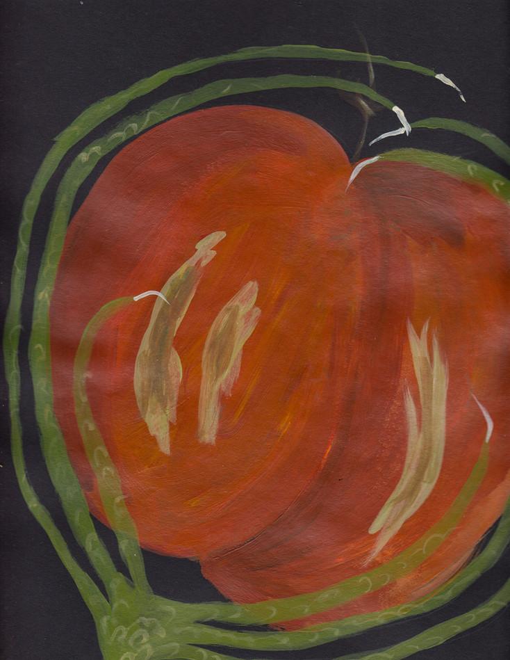 Plant-hand-spiral series 17