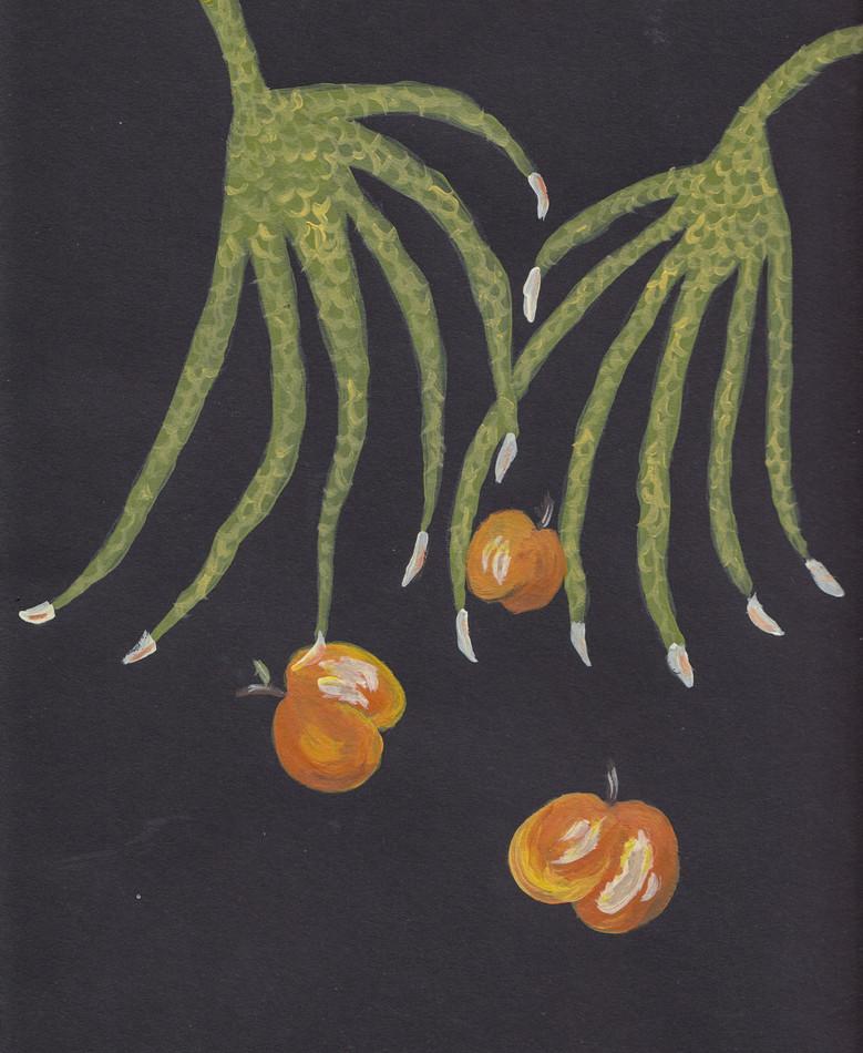 Plant-hand-spiral series 1