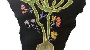 Sprouting Life With Paint